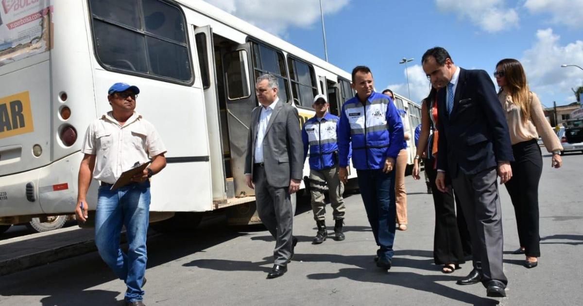Fiscalização do MP em São Luís do Quitunde (Crédito: Ascom MP/AL)