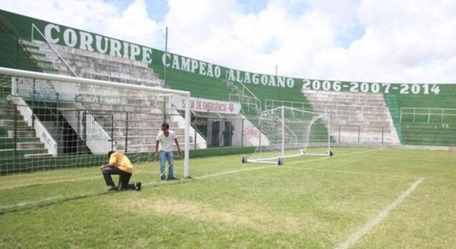Estádio Gerson Amaral (Foto: Divulgação/ Federação Alagoana de Futebol)