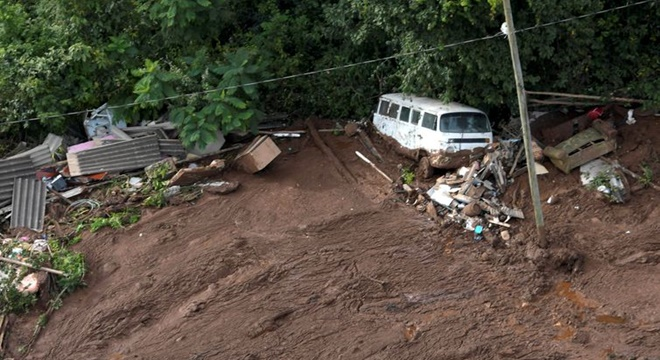 Barragem de rejeitos se rompe em Brumadinho, Minas Gerais - (Crédito: REUTERS/Washington Alves)