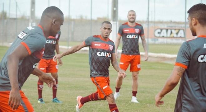 81021d5514 Preparação do CRB para estreia contra o Bahia na Copa do Nordeste