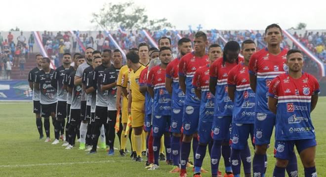 ASA e Bragantino-PA pela Copa do Brasil (Créditos: Reprodução/Internet)