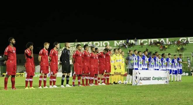 CRB e Jacyobá garante vantagem na próxima partida da semifinal (Créditos: Reprodução/Imagem-Ailton Cruz)