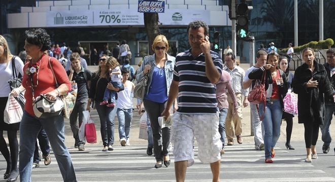 De novembro de 2018 a fevereiro de 2019, houve um crescimento de 7,3% na taxa de população desocupada no país (Crédito: Wilson Dias/ABR)