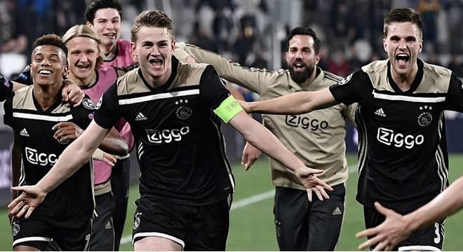 Ajax vence o Juventus e esta na semifinal (Créditos: Marco Bertorello/Imagem)