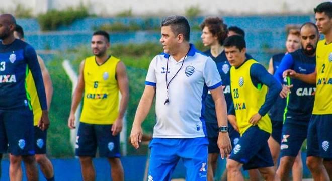 CSA realiza treinamento para jogo contra o Palmeiras (Créditos: Morgana Oliveira/Ascom CSA)