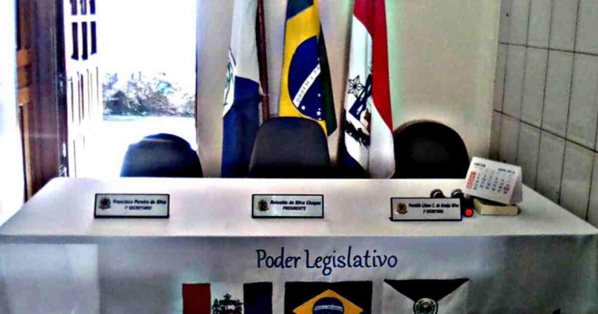 Camara de vereadores da cidade de Branquinha