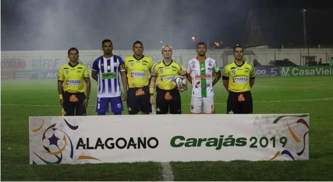 Coruripe consegue o terceiro lugar do Alagoano diante do Jacyoba (Créditos: Ascom/Jaciobá)