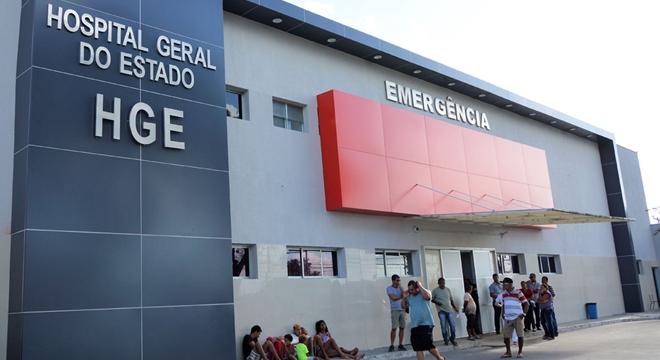 Hospital Geral do Estado (Crédito: Assessoria)
