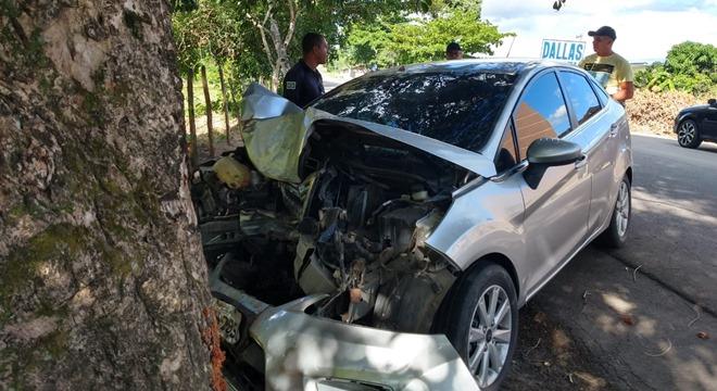 Segundo testemunhas, o homem trabalhava como mototaxista e estava em crise nervosa (Crédito: Reprodução/WhatsApp)