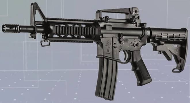 Bolsonaro assina decreto que libera compra de fuzil por qualquer cidadão — © Ilustração