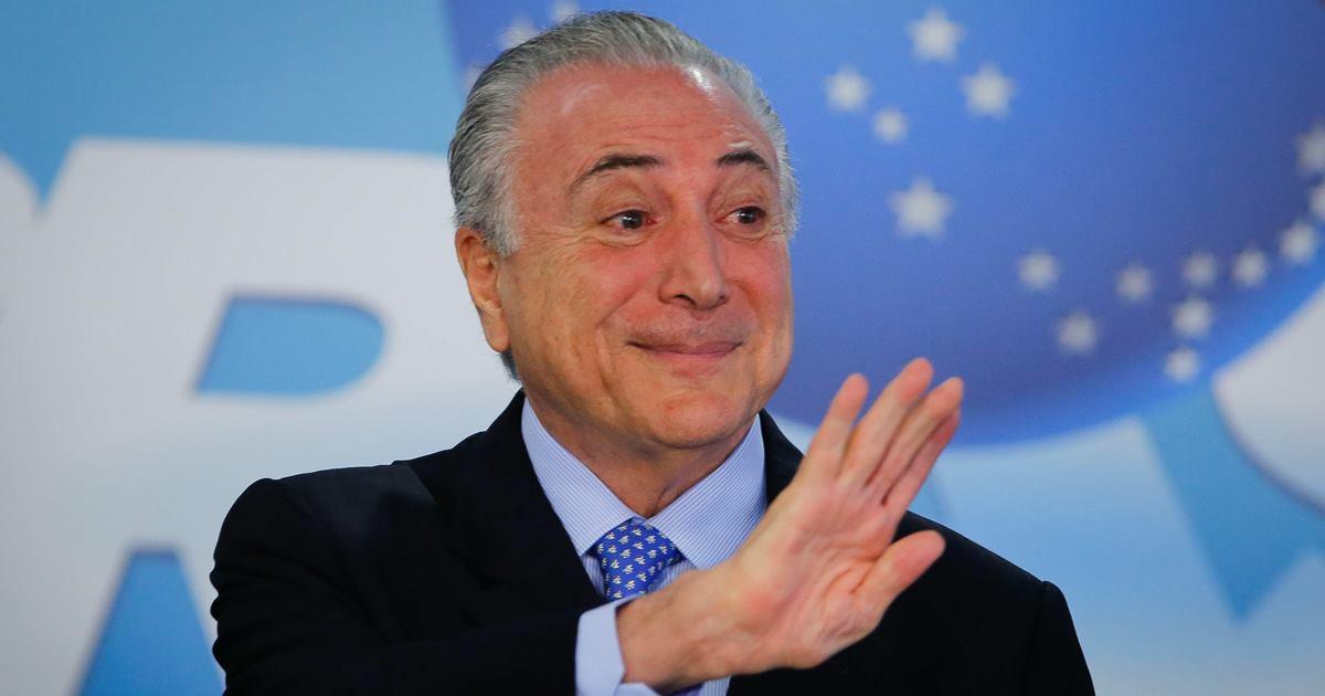 Ex-presidente Michel Temer - © Sérgio Lima/Poder360