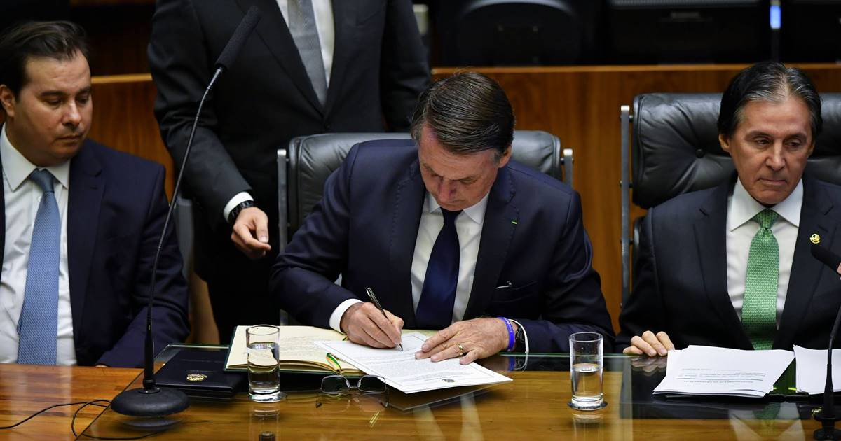 Presidente Jair Messias Bolsonaro - © Nelson AlmeidaAFP