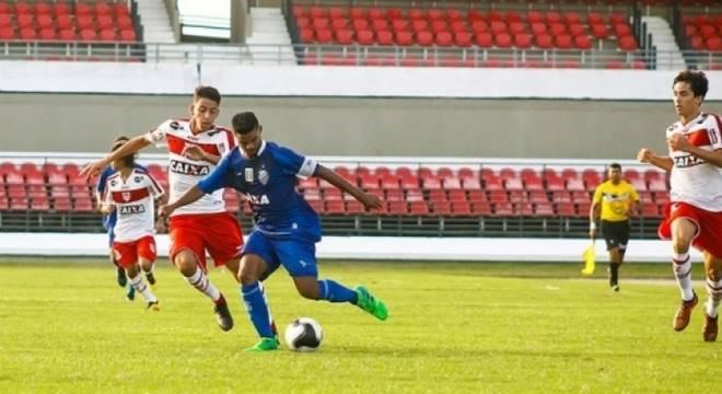 As quartas de final sub-17 do Campeonato Alagoano inicia nesta sexta-feira (Créditos: Ascom/CSA)