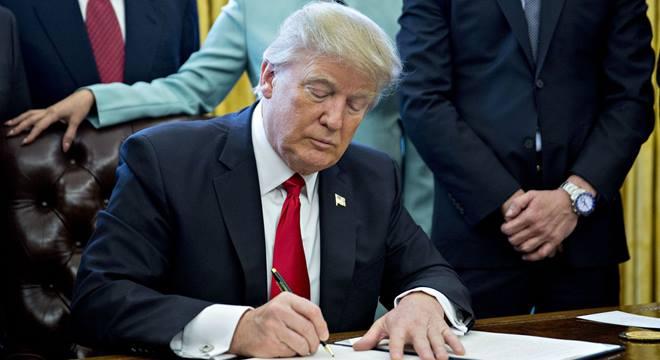 Trump declara estado de emergência nacional - © Reprodução/Internet