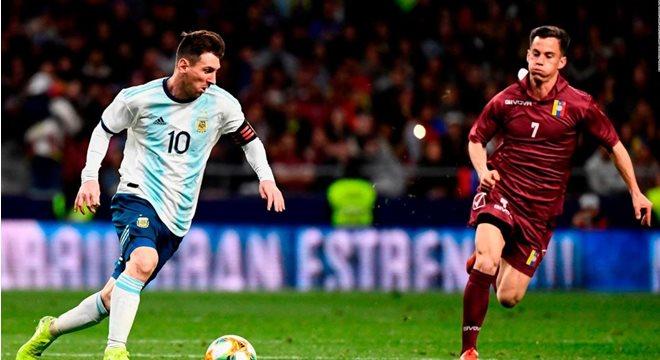 Argentina e Venezuela disputam vaga para as semifinais — © Reprodução/Internet