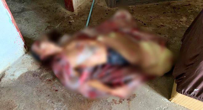 Adolescente foi torturado e morto a golpes de faca e pedradas — © Cortesia ao BR104