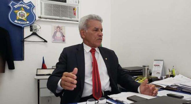 Delegado Robervaldo Davino, titular do 6º Distro da Capital — © ASCOM