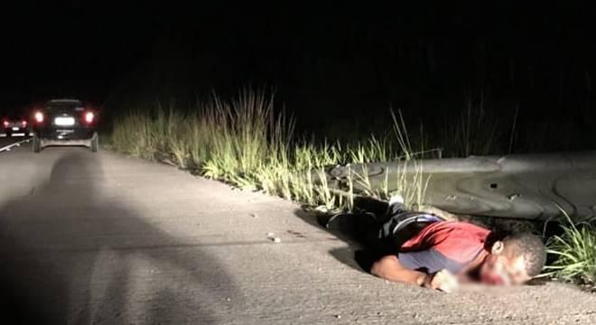 Ednaldo da Silva Santos, 30 anos, morreu no local — © Reprodução