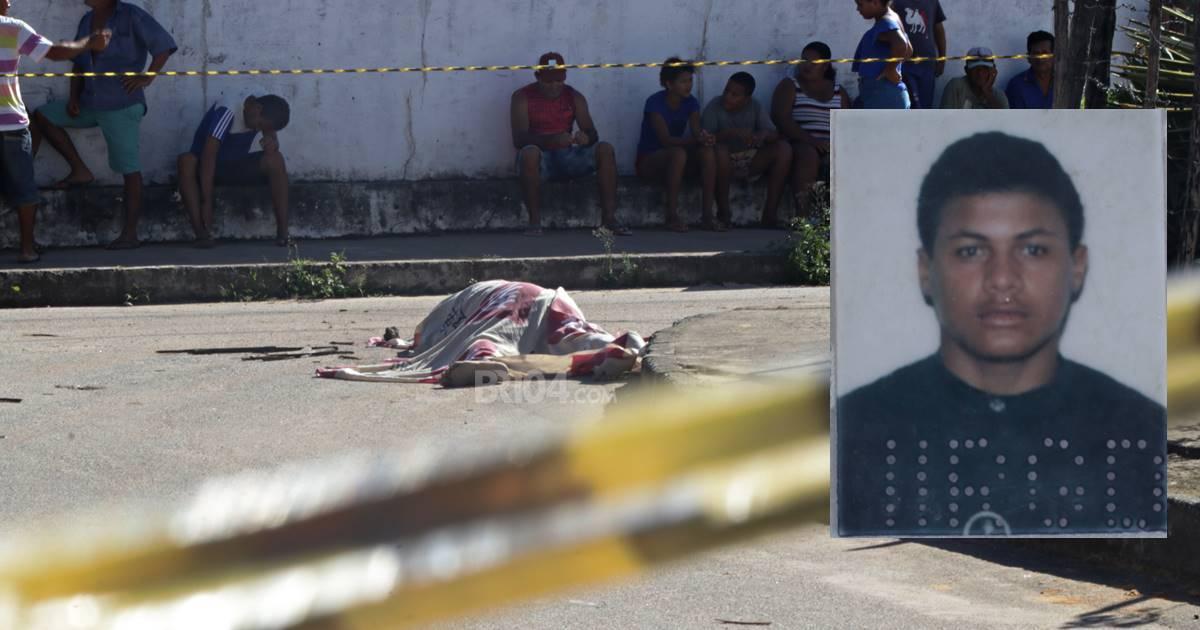 Ivanildo Pereira da Silva, de 22 anos, foi perseguido e assassinado — © Gustavo Lopes/BR104
