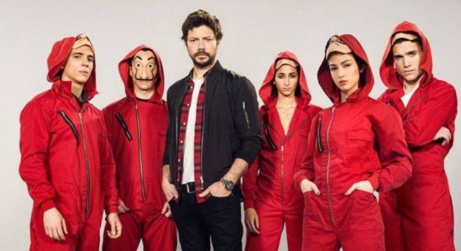 Netflix libera 3ª temporada de La Casa de Papel — © Reprodução/Internet