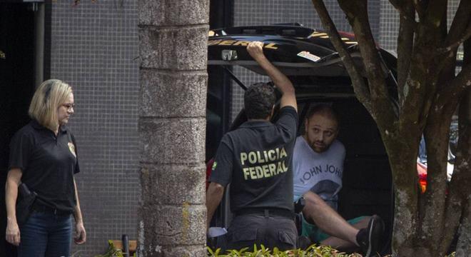 Walter Delgatti Neto, um dos suspeitos preso pela Operação Spoofing — © Daniel Marenco