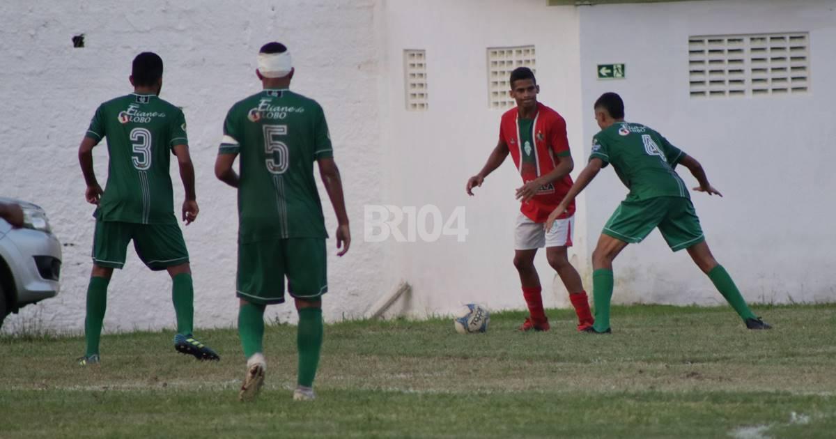 Zumbi empata com Dimensão Saúde pelo Campeonato Alagoano Sub-20 — © Gustavo Lopes/BR104