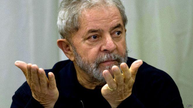 STF suspende transferência de Lula para presídio em São Paulo — © Internet