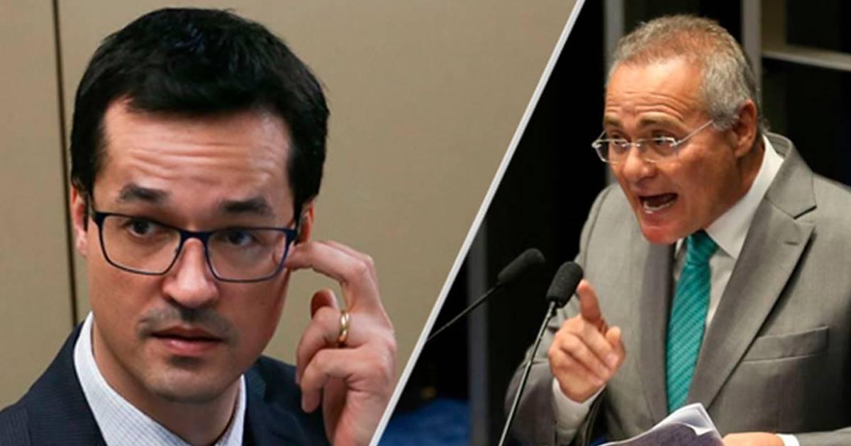 Deltan Dallagnol pode responder por acusações do Renan Calheiros — © Internet