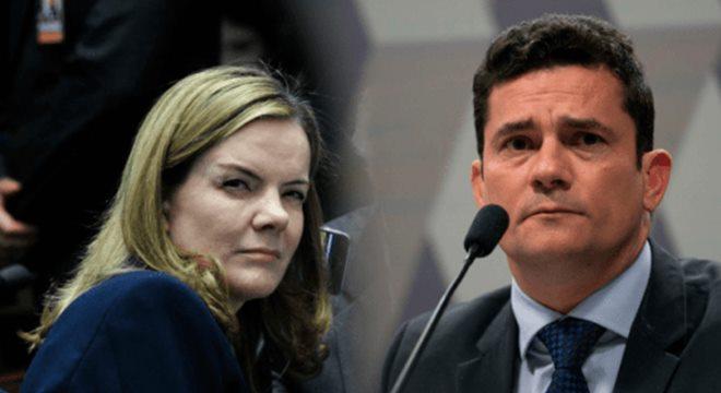 PT vai processar Moro por áudio do PCC — © Internet
