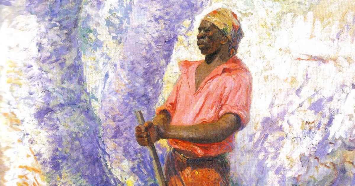 Pintura de Zumbi dos Palmares