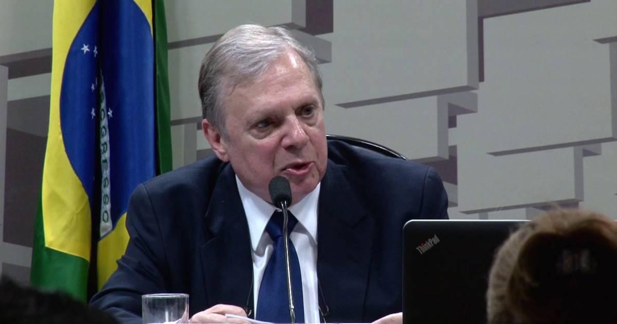 Tasso Jereissati relator da Previdência — © Divulgação