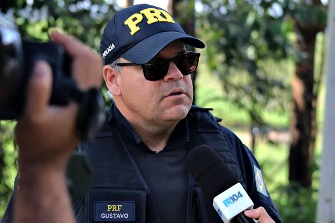 Agente da PRF, Gustavo — © Alyson Santos/BR104