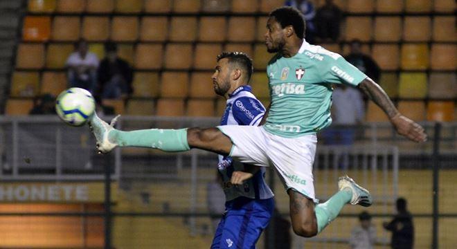 CSA é goleado pelo Palmeiras por 6 a 1 no Pacaembu — © Bruno Ulivieri