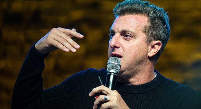 Luciano Huck na palestra do Festival de Cultura Empreendedora, em São Paulo — © Edurado Anizelli