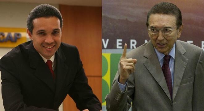 Márcio Lobão e Edson Lobão — © Internet