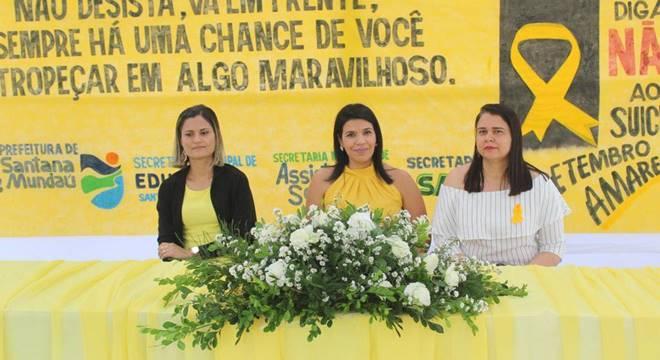 Secretarias municipais promovem encerramento da Campanha Setembro Amarelo — © Assessoria