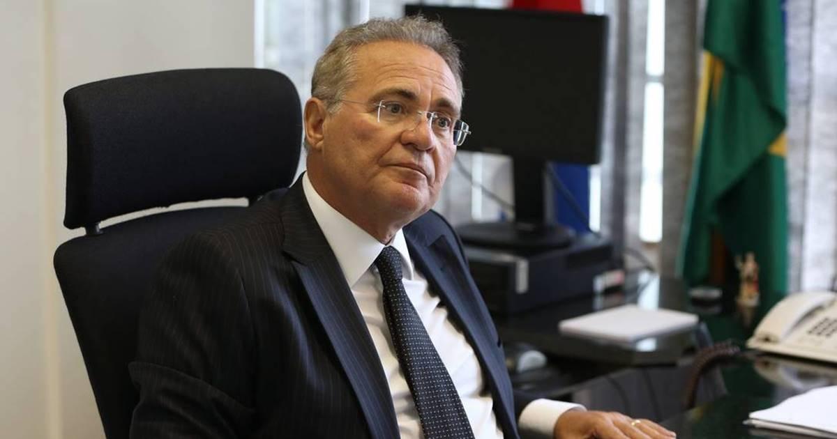 Renan Calheiros reclama da lentidão e entra com auditoria no TCU — © Reprodução
