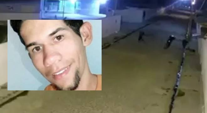 Wesley Ferreira Vieira, de 21 anos, foi morto a tiros — © Reprodução