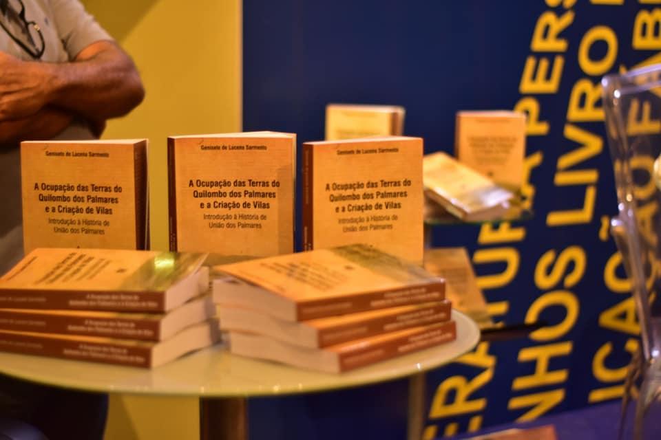Genisete Lucena lança no Museu Maria Mariá, livro que narra história de União dos Palmares — © Reprodução