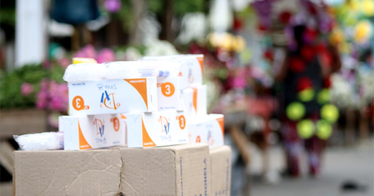 Ambulantes aproveitam o Dia de Finados para faturar em União dos Palmares — © Gustavo Lopes/BR104