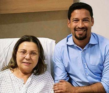 Deputada Tereza Nelma e senador Rodrigo Cunha