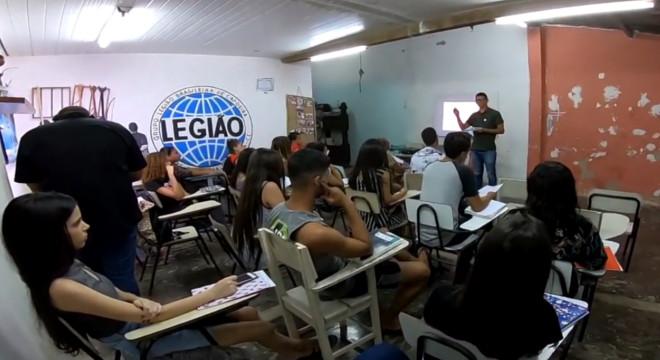 PJMP realiza cursinho preparatório para o Enem em União dos Palmares — © Reprodução/BR104