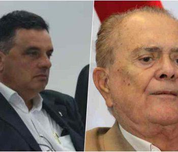 Prefeito Areski Freitas e usineiro João Lyra