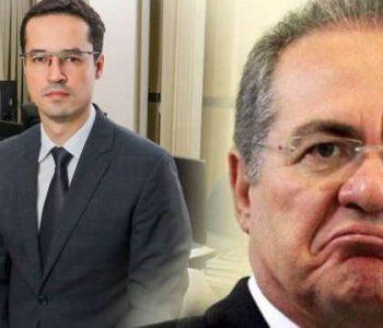 Renan Calheiros pede julgamento de Dallagnol ao CNMP — © Reprodução