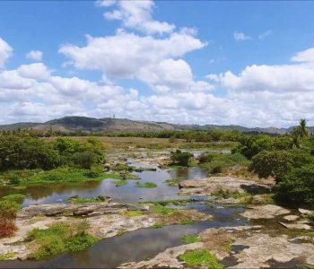 Rio Mundaú em União dos Palmares