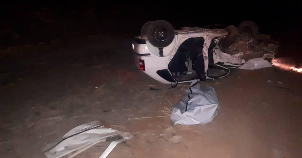 Acidente aconteceu em trecho da rodovia AL-220 — © Ascom/CBM
