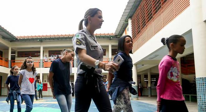 Cerca de 23 estados terão escolas cívico-militar a partir de 2020 no Brasil — © Reprodução