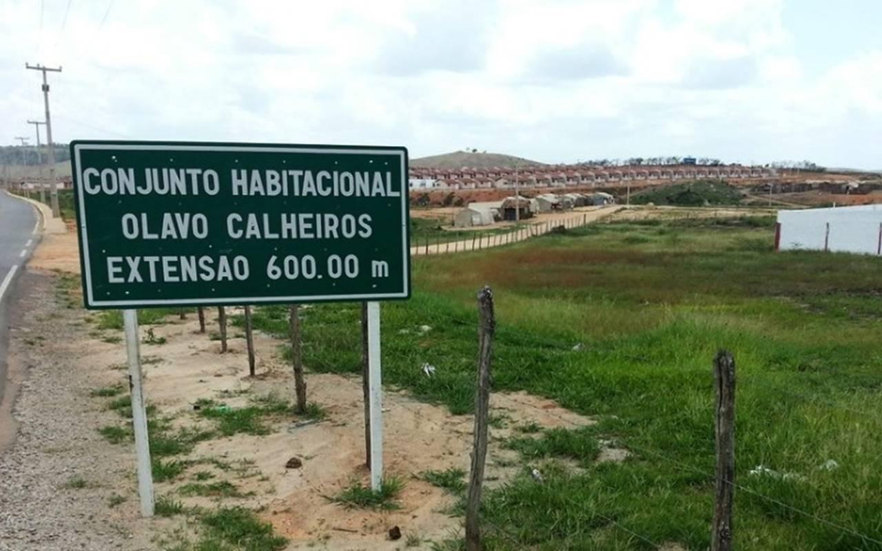 Conjunto Olavo Calheiros, em Murici (AL) — © Reprodução