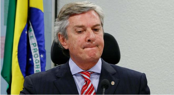Senador Fernando Collor (PROS) — © Reprodução