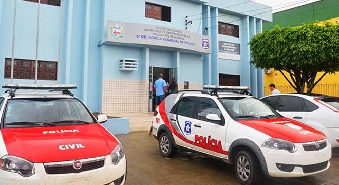 Sede da Delegacia Regional de São Miguel dos Campos — © Ascom/PC-AL